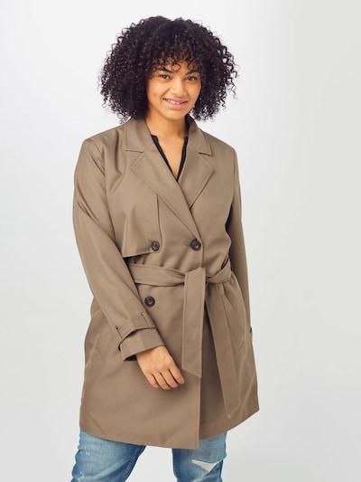 világosbarna Vero Moda Curve Átmeneti kabátok 'CELESTE', Modell nézet