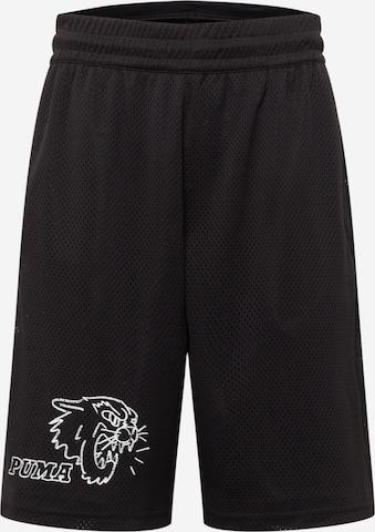 Pantaloni sportivi di PUMA in nero