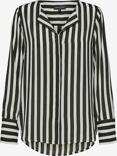 SELECTED FEMME Hemd in schwarz / weiß, Produktansicht