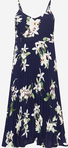 Guido Maria Kretschmer Curvy Collection Kleid 'Jessa' in Blue