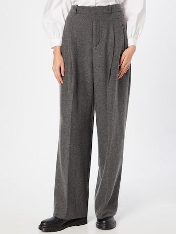Pantaloni con piega frontale di Banana Republic in grigio