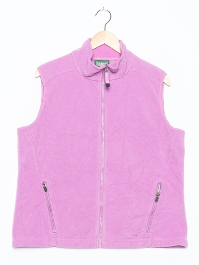 L.L.Bean Weste in XXL in lavendel, Produktansicht