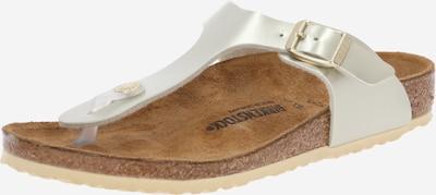 BIRKENSTOCK Sandale 'Gizeh' u zlatna, Pregled proizvoda