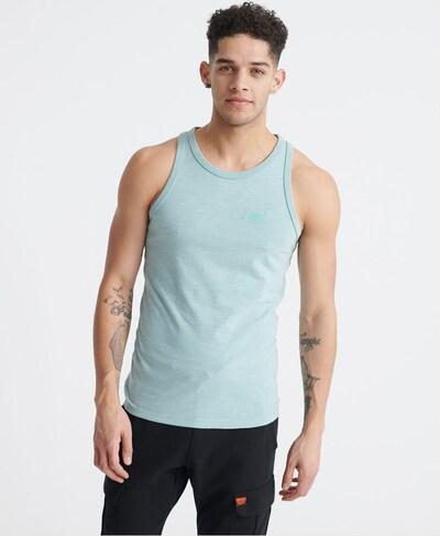 Superdry T-Shirt en corail: Vue de face