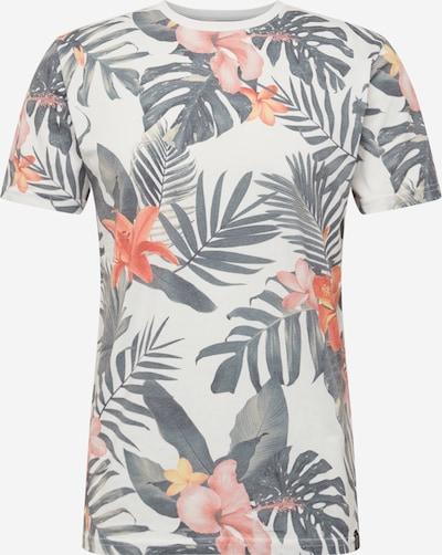 SHINE ORIGINAL Shirt in safran / stone / koralle / weiß, Produktansicht
