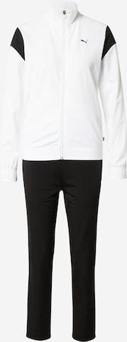 PUMA Облекло за трениране в бяло