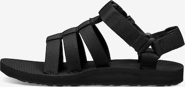 TEVA Hiking Sandals in Black
