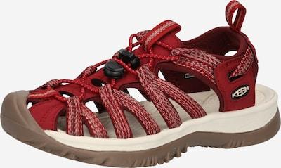 KEEN Sandály - červená / bílá, Produkt