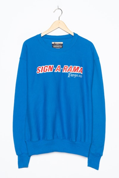Champion Authentic Athletic Apparel Sweatshirt in XXXL in blau, Produktansicht