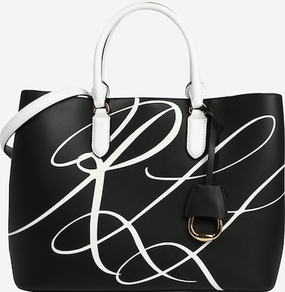 Lauren Ralph Lauren Handbag 'MARCY' in black / white, Item view