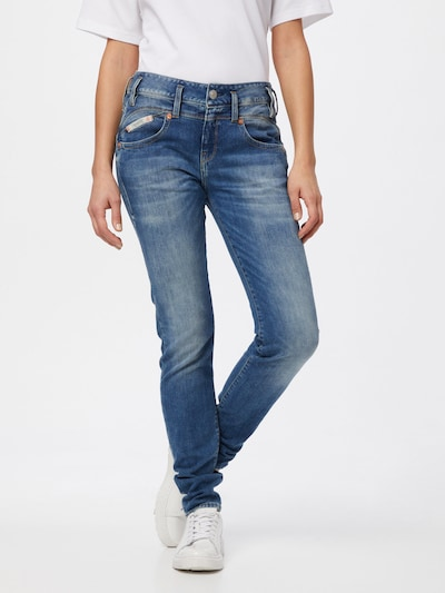 Herrlicher Jeans 'Pearl' in blue denim, Modelansicht