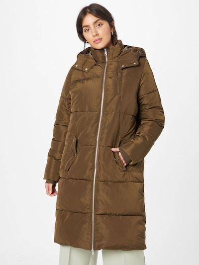 modström Between-Seasons Coat 'Phoebe' in Brown, View model