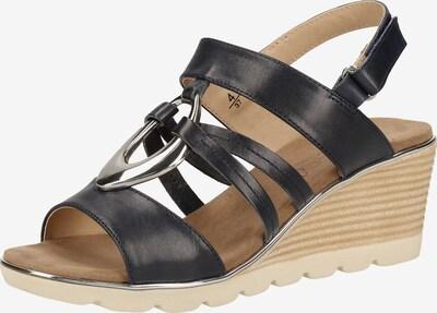 CAPRICE Sandale in nachtblau, Produktansicht