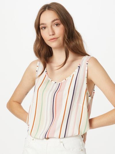 Hailys Bluse 'Robina' in mischfarben / offwhite, Modelansicht