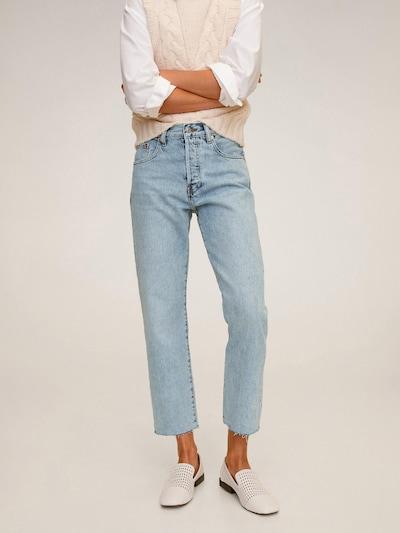 MANGO Jeans 'Havana' in blue denim, Modelansicht