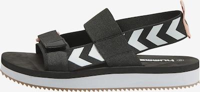 Hummel Sandaal in de kleur Zwart / Wit, Productweergave