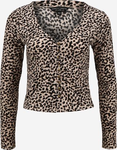 Geacă tricotată Dorothy Perkins pe bej / maro / negru, Vizualizare produs
