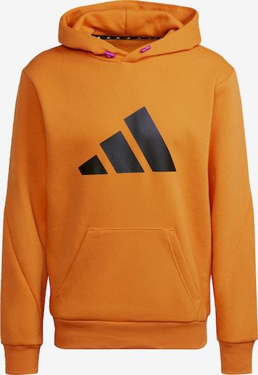 ADIDAS PERFORMANCE Sportsweatshirt 'Future Icons' in orange / schwarz, Produktansicht