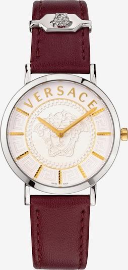 VERSACE Versace Schweizer Uhr in weinrot / silber, Produktansicht