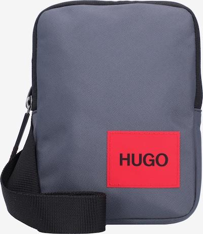 HUGO Schoudertas 'Ethon' in de kleur Donkergrijs / Rood, Productweergave
