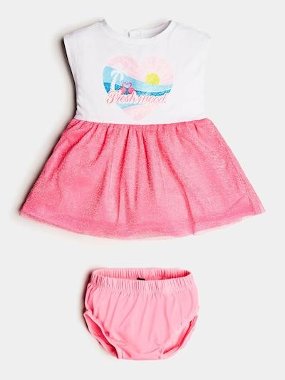 GUESS KIDS Kleid in blau / pink / weiß, Produktansicht