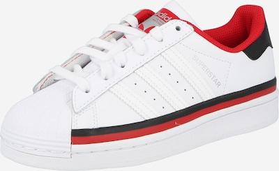 ADIDAS ORIGINALS Trampki 'Superstar' w kolorze czerwony / czarny / białym, Podgląd produktu