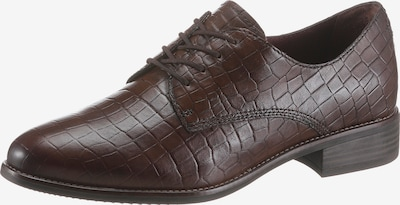 TAMARIS Lace-Up Shoes 'Jeany' in Dark brown, Item view