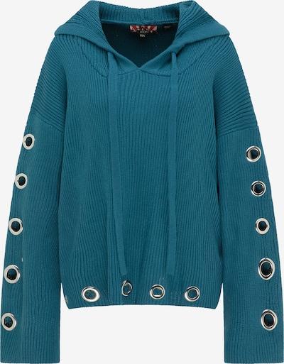 myMo ROCKS Pullover in himmelblau, Produktansicht