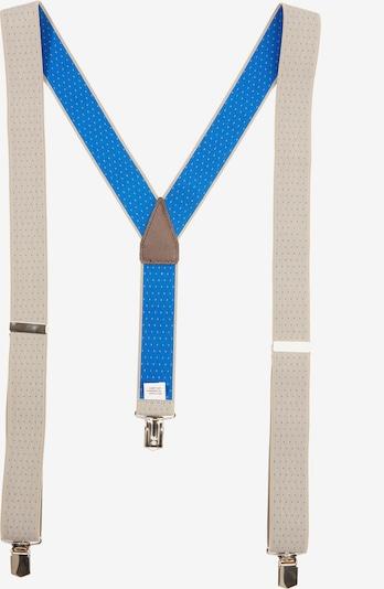 s.Oliver BLACK LABEL Hosenträger in blau / braun / puder, Produktansicht