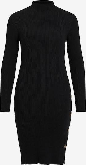 VILA Pletena haljina 'SOLTO' u crna, Pregled proizvoda