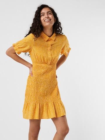 VERO MODA Blousejurk 'Dicthe' in Oranje