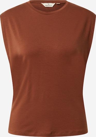 basic apparel Haut 'Jolanda' en chocolat, Vue avec produit