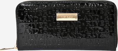River Island Porte-monnaies en noir, Vue avec produit
