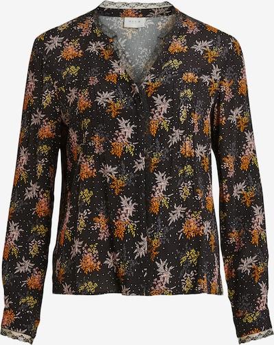 VILA Bluza 'Borine' u žuta / narančasta / crna, Pregled proizvoda