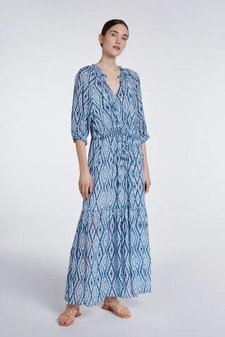 SET - Vestido en azul