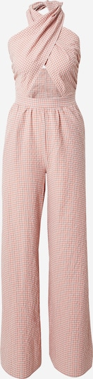 Missguided Overall in rosa / weiß, Produktansicht