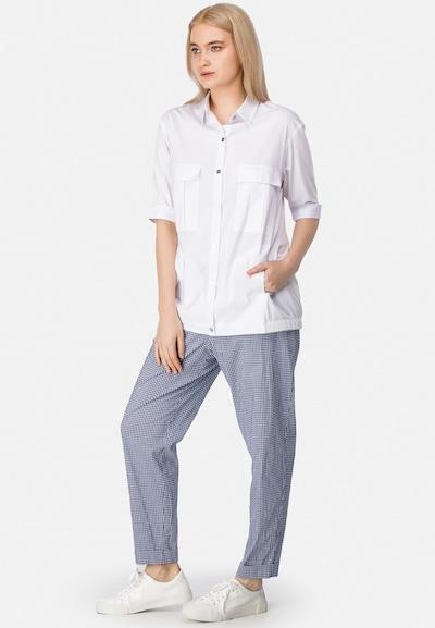 HELMIDGE Blouse in de kleur Wit, Modelweergave
