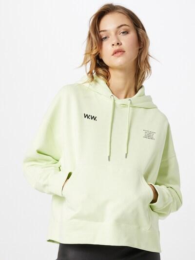 WOOD WOOD Sweater majica 'Mary' u svijetlozelena: Prednji pogled