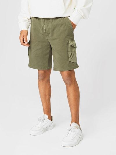 REPLAY Shorts in oliv, Modelansicht
