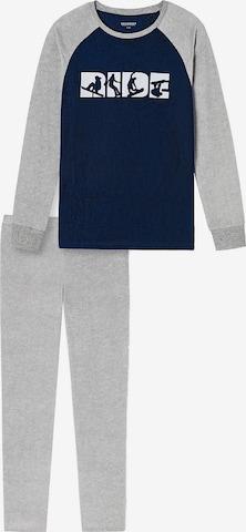 SCHIESSER Schlafanzug in Grau