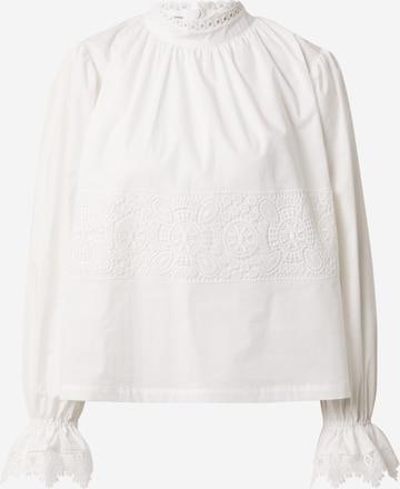 Designers Remix Μπλούζα 'Sandra' σε μπεζ