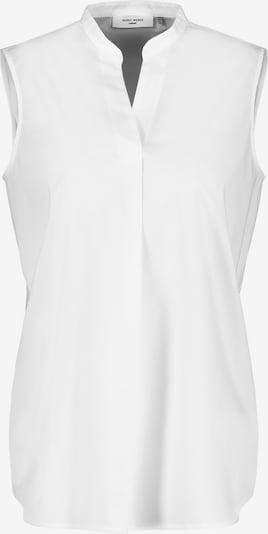 GERRY WEBER Ärmellose Bluse in weiß, Produktansicht