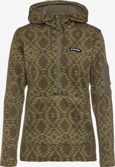 COLUMBIA Sweatshirt in schlammfarben / oliv, Produktansicht