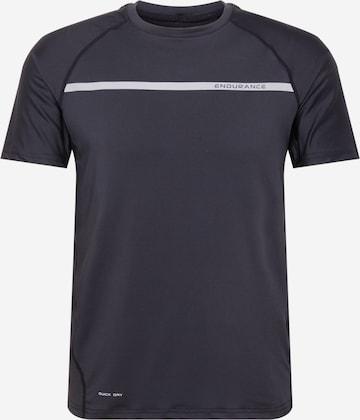 melns ENDURANCE Sporta krekls 'Serzo'
