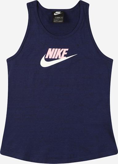Nike Sportswear Shirt in de kleur Navy / Rosa / Wit, Productweergave
