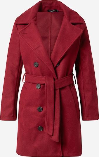 Sublevel Manteau mi-saison en rouge, Vue avec produit