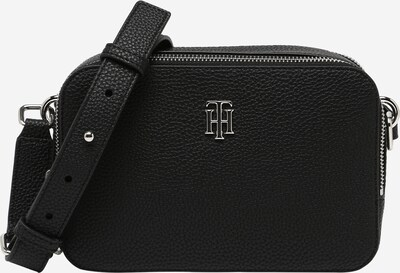 TOMMY HILFIGER Crossbody Bag 'Element' in Black / Silver, Item view
