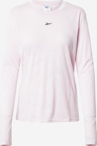 Reebok Sport Funktionshirt 'Burnout' in Pink