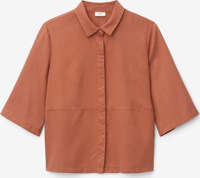 Marc O'Polo DENIM Bluse in dunkelorange, Produktansicht