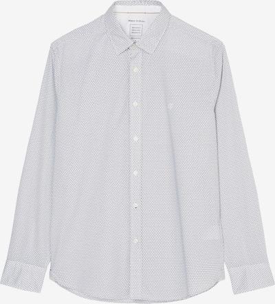 Marc O'Polo Langarm-Hemd regular ' mit graphischem Muster ' in weiß, Produktansicht